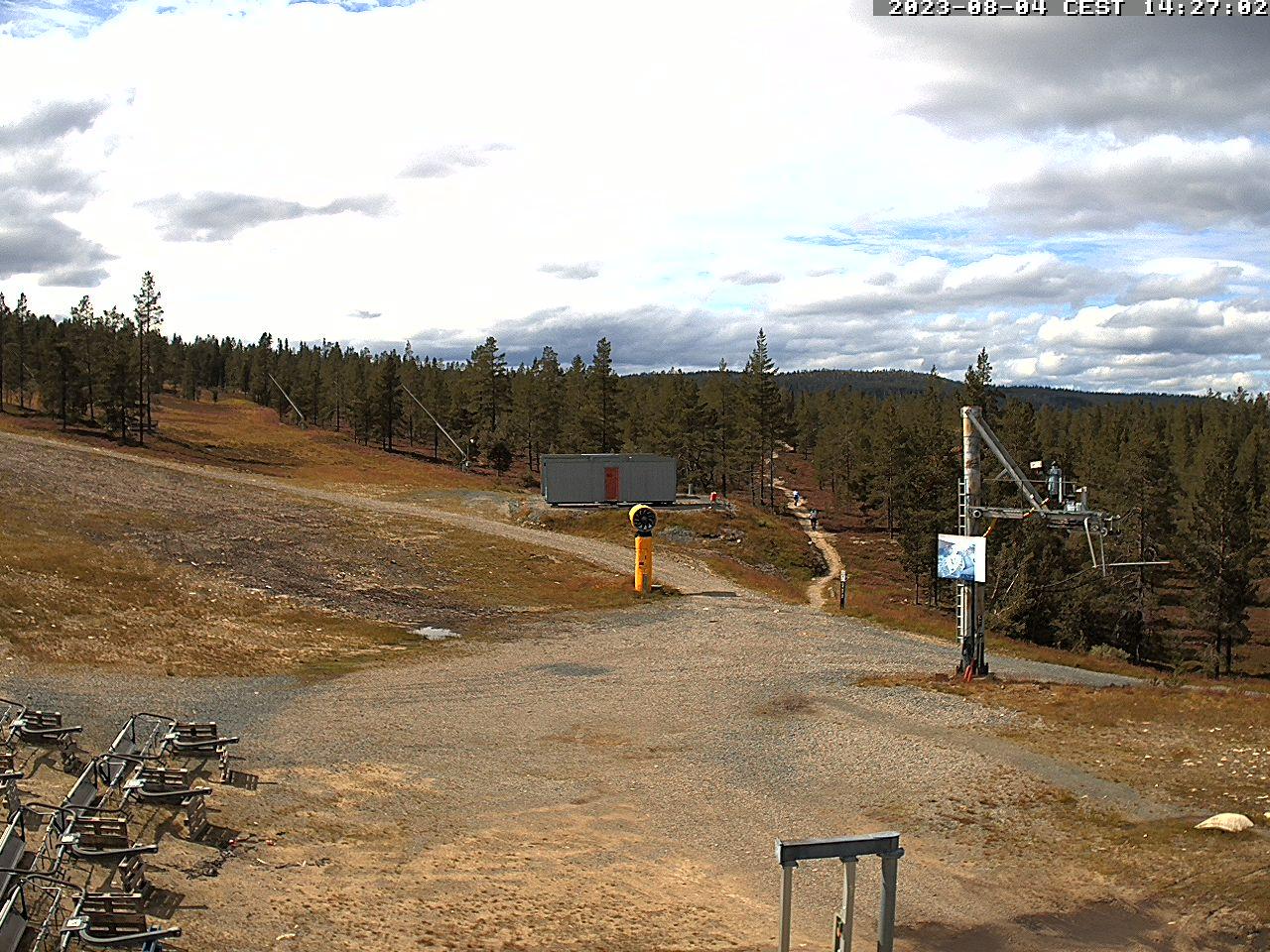 Skifahren Schweden, Hauptpiste Idre